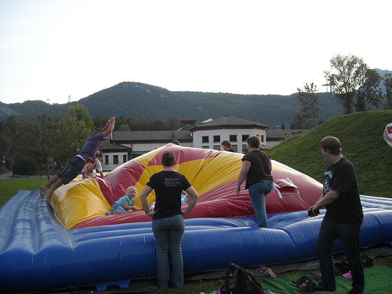 hupfburg ausliehen in Bayern und Salzburg