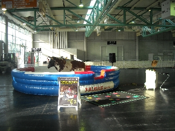 Original Rodeo-Turnier-Bulle